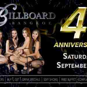 Billboard Bangkok Celebrates 4th Anniversary