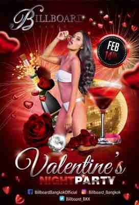 Valentine's Night Party 2020 at Billboard Bangkok