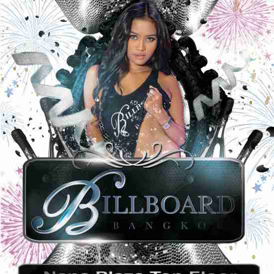 New Year's Eve 2020 Poster at Billboard Bangkok