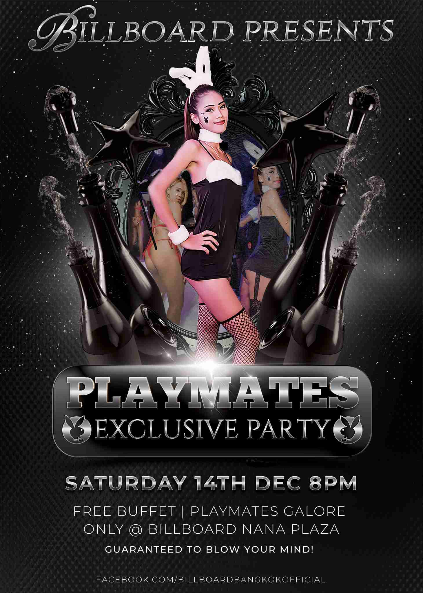 Billboard Bangkok Playmates Party 2019
