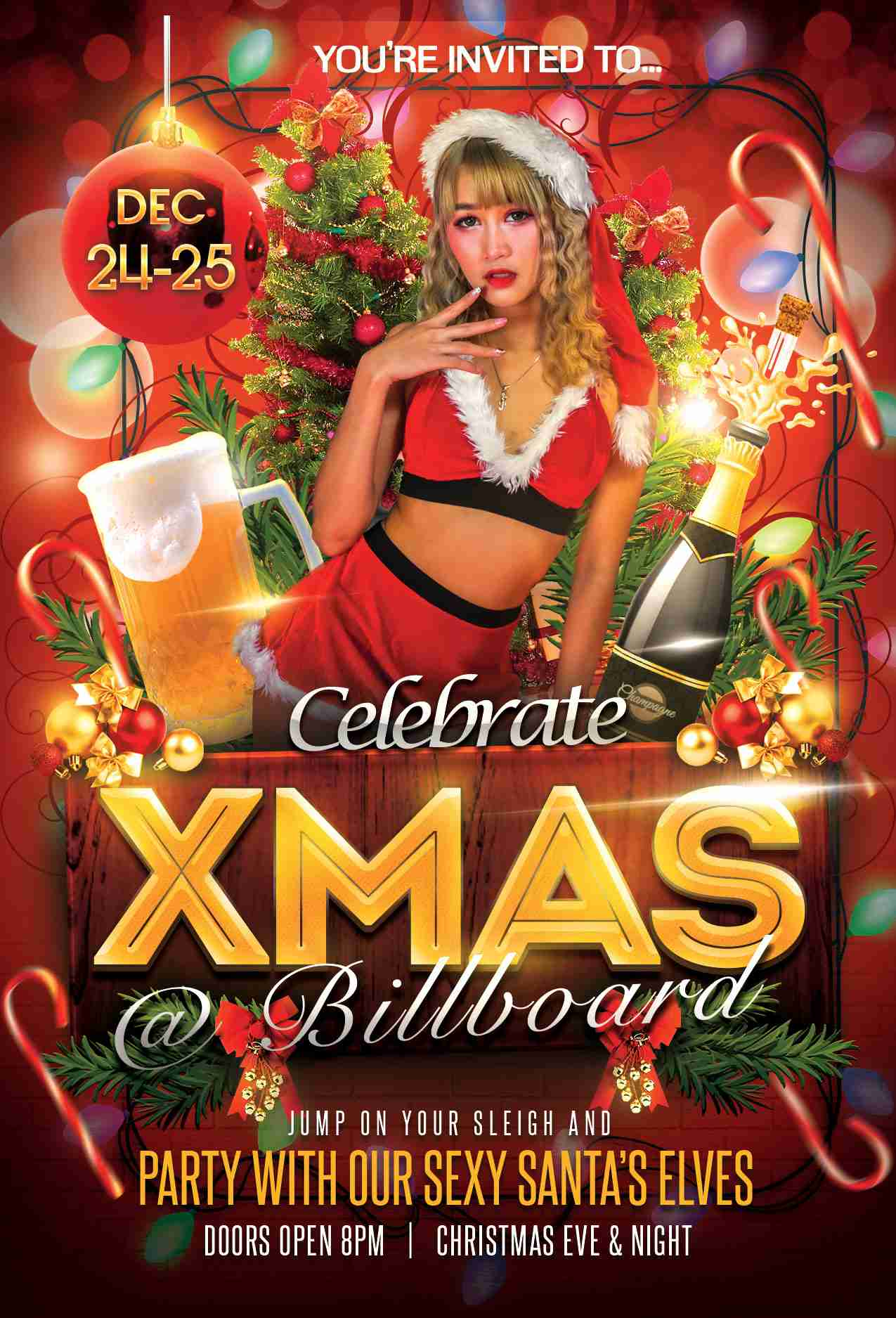 Billboard Bangkok Christmas 2020